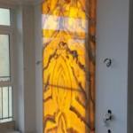 Панно из Оникса с подсветкой
